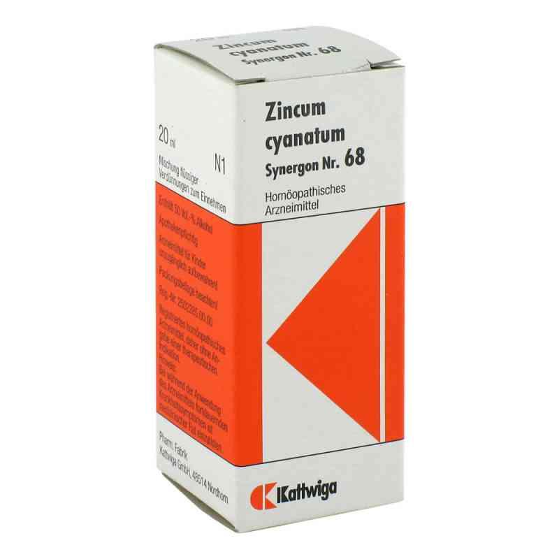Synergon 68 Zincum cyanatum Tropfen  bei juvalis.de bestellen