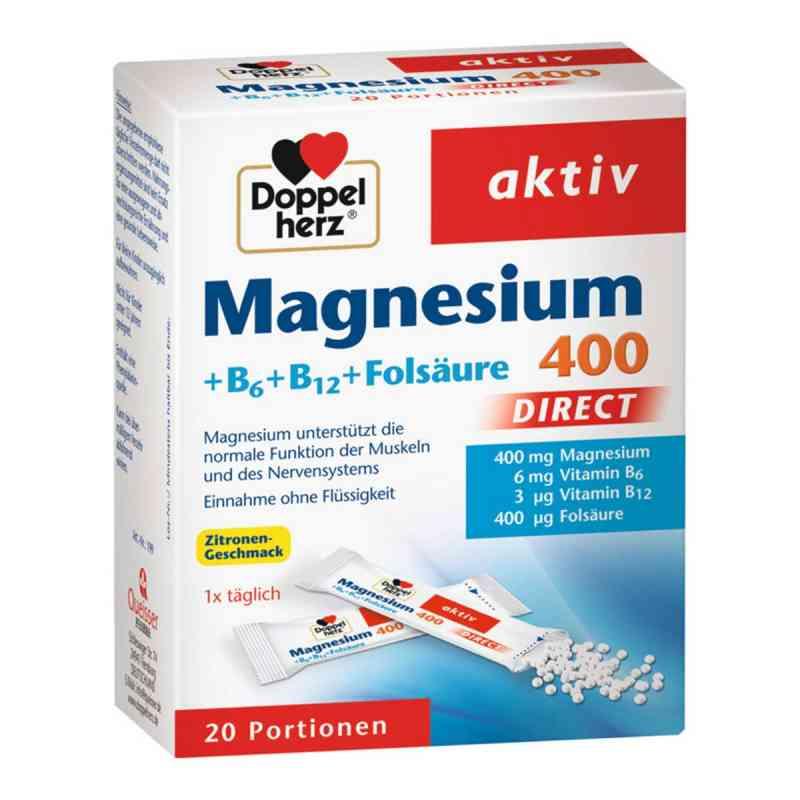 Doppelherz Magnesium + B Vitamine Direkt Pellets  bei juvalis.de bestellen