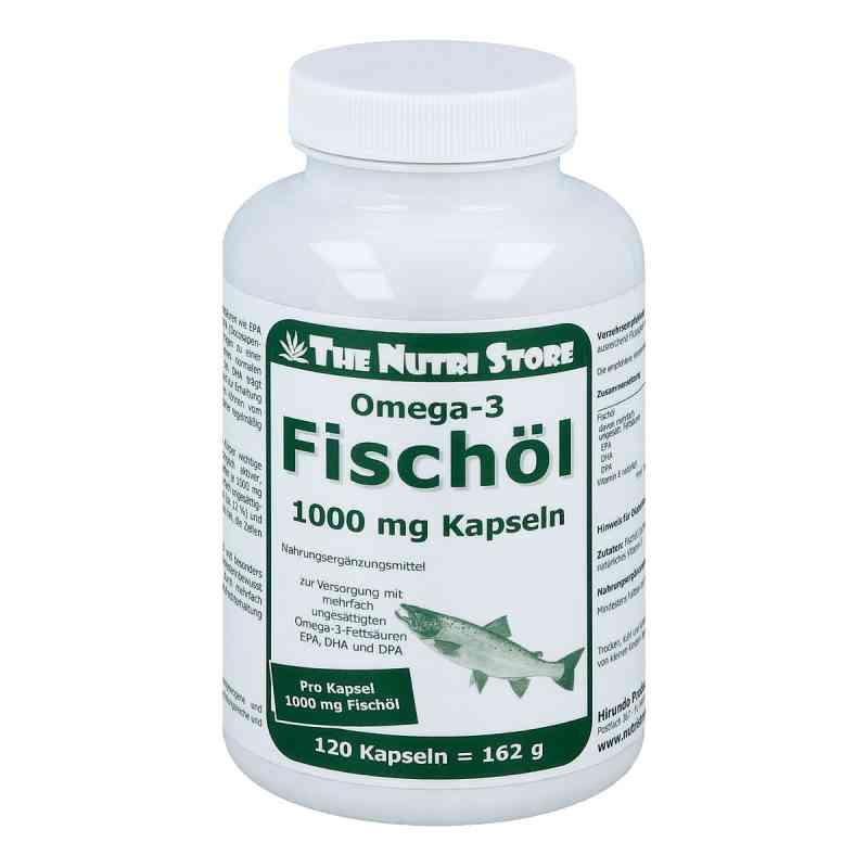 Omega 3 Fischöl 1000 mg Kapseln  bei juvalis.de bestellen