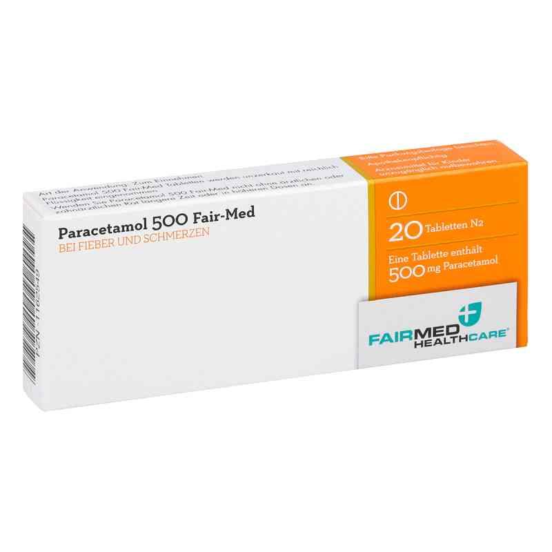 Paracetamol 500 Fair-Med  bei juvalis.de bestellen