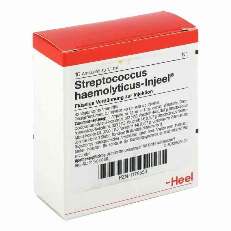 Streptococcus Haemolyticus Injeel Ampullen  bei juvalis.de bestellen