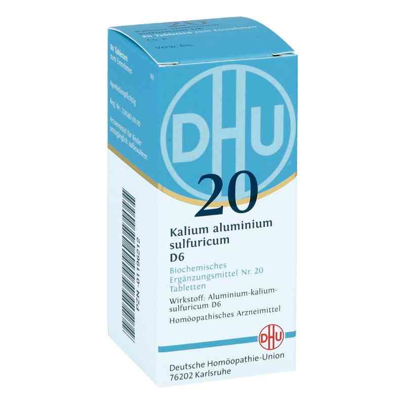 Biochemie Dhu 20 Kalium alum.sulfur. D6 Tabletten  bei juvalis.de bestellen
