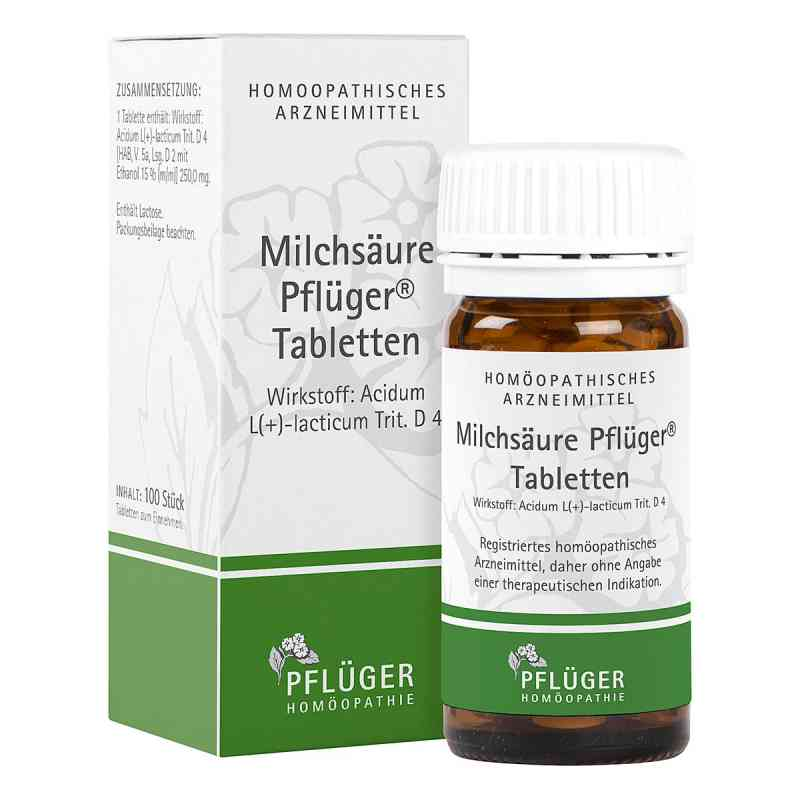 Milchsäure Pflüger Tabletten  bei juvalis.de bestellen