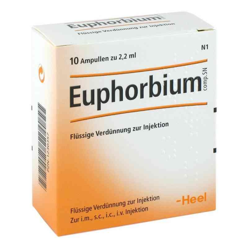 Euphorbium Compositum Sn Ampullen  bei juvalis.de bestellen