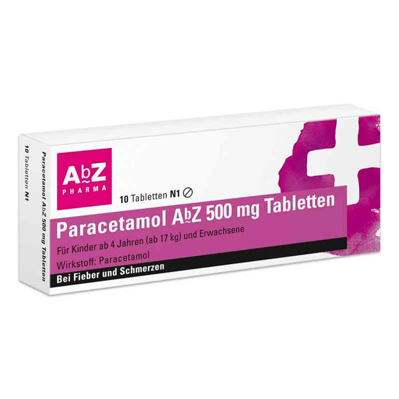 Paracetamol AbZ 500mg Tabletten  bei juvalis.de bestellen