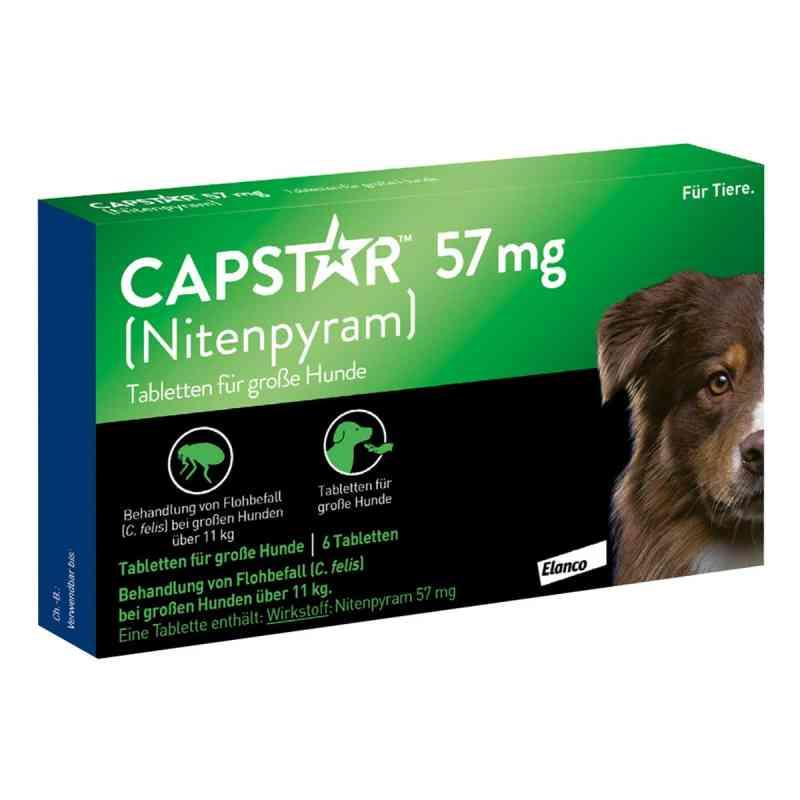 Capstar 57 mg Tabletten für grosse Hunde  bei juvalis.de bestellen