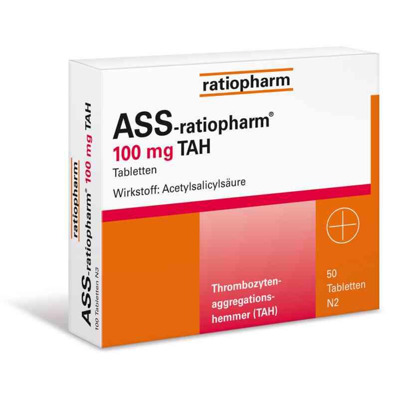 ASS-ratiopharm 100mg TAH  bei juvalis.de bestellen