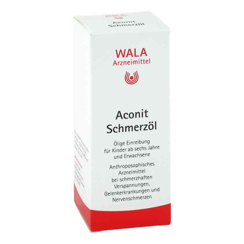 Aconit Schmerzöl  bei juvalis.de bestellen