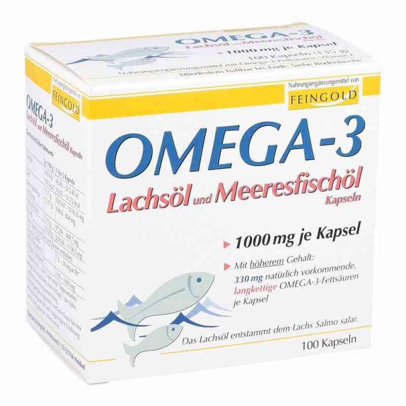 Omega 3 Lachsöl und Meeresfischöl Kapseln  bei juvalis.de bestellen