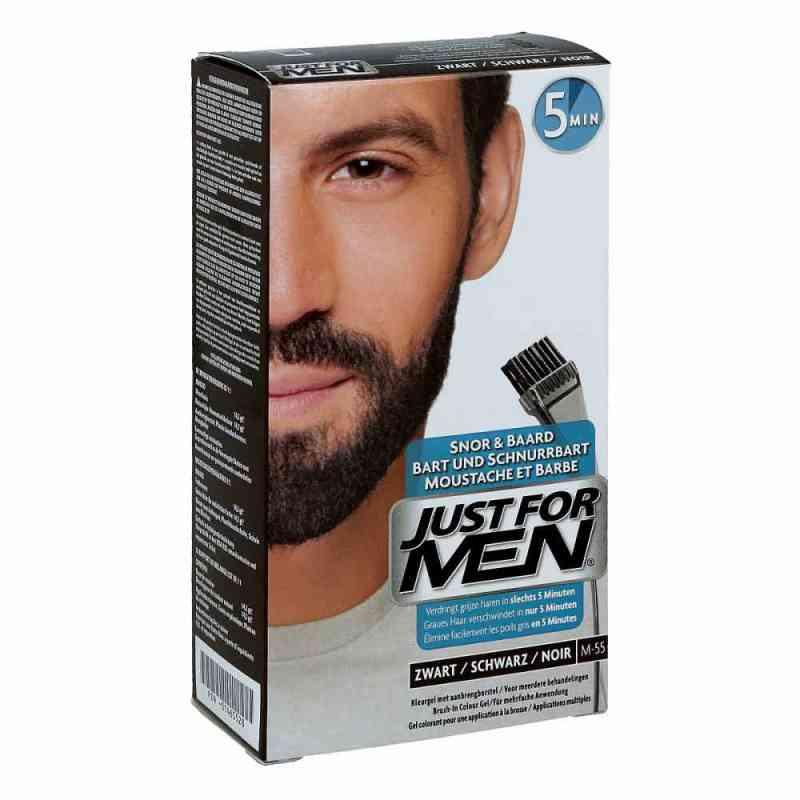Just for men Brush in Color Gel schwarz  bei juvalis.de bestellen