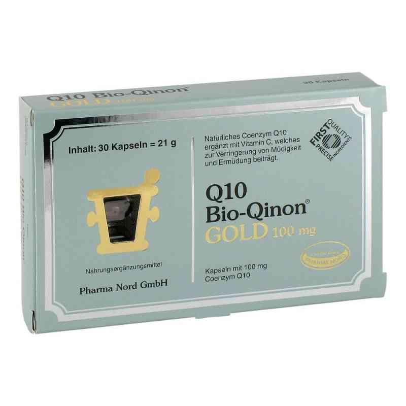 Q10 Bio Qinon Gold 100 mg Kapseln  bei juvalis.de bestellen