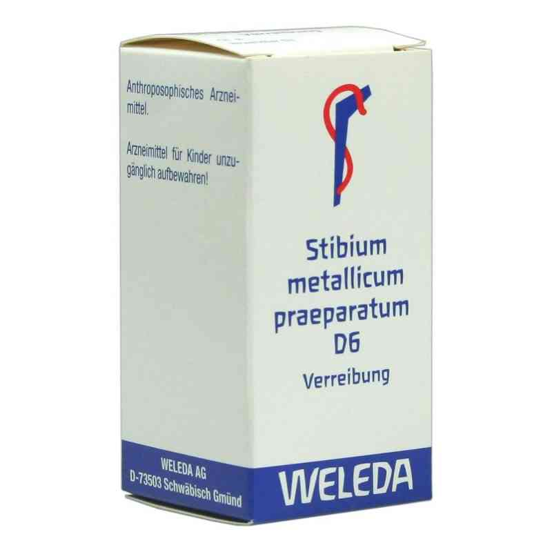 Stibium Met. Praeparatum D6 Trituration  bei juvalis.de bestellen