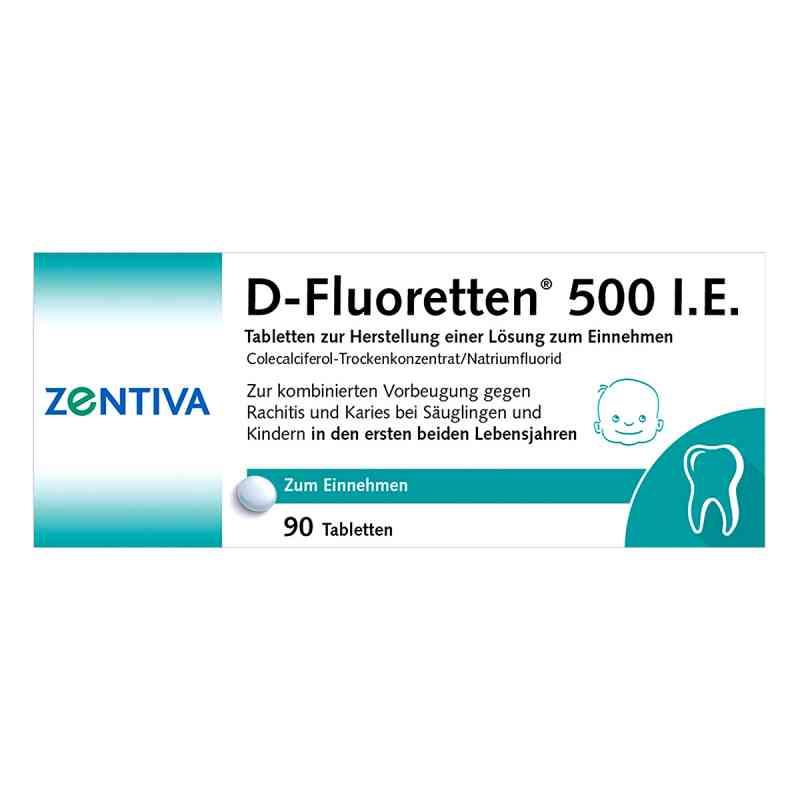 D-Fluoretten 500 internationale Einheiten  bei juvalis.de bestellen