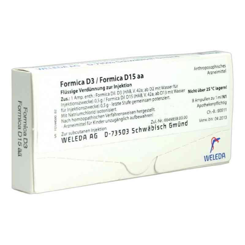 Formica D3 / Formica D15 aa Ampullen  bei juvalis.de bestellen