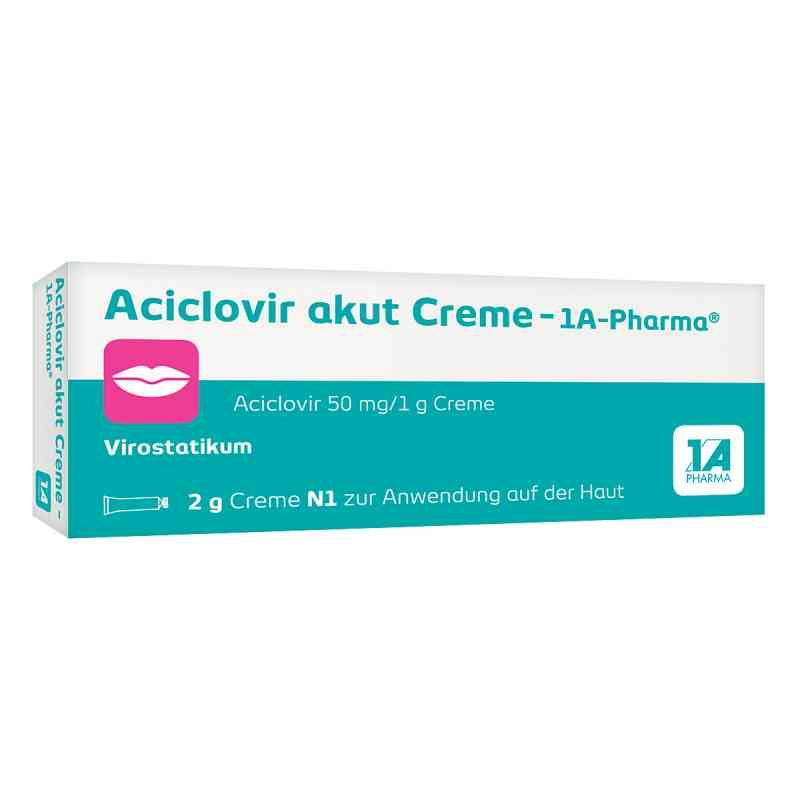 Aciclovir akut Creme-1A Pharma  bei juvalis.de bestellen
