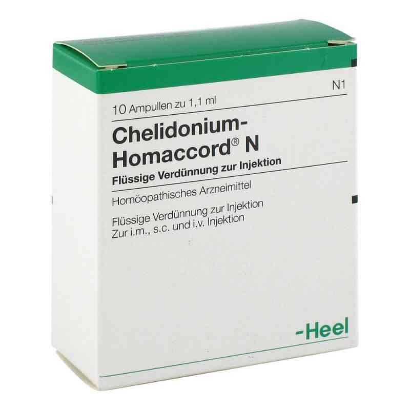 Chelidonium-homaccord N Ampullen  bei juvalis.de bestellen
