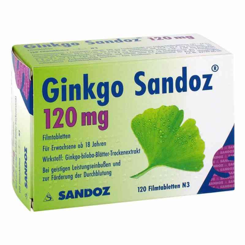 Ginkgo Sandoz 120mg  bei juvalis.de bestellen