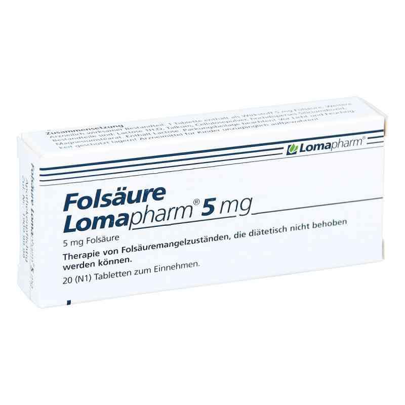 Folsäure Lomapharm 5 mg Tabletten  bei juvalis.de bestellen