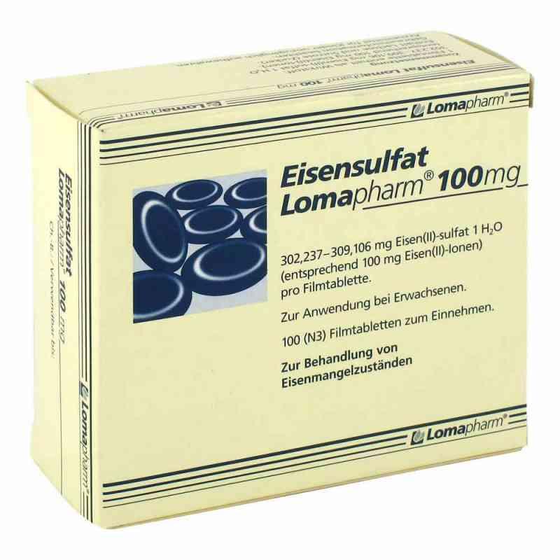 Eisensulfat Lomapharm 100mg  bei juvalis.de bestellen