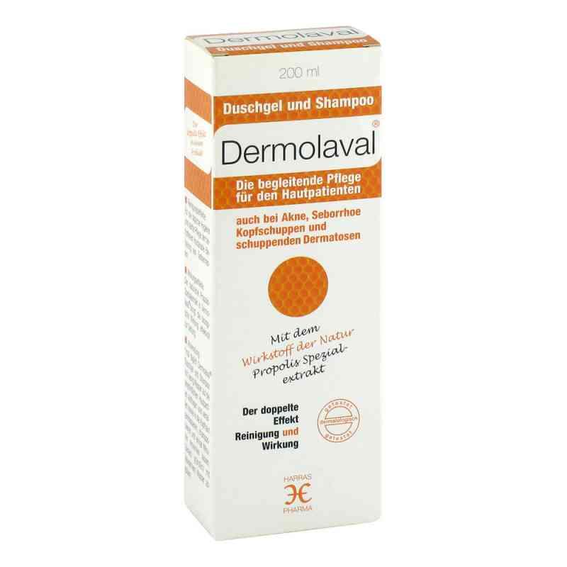Dermolaval Duschgel+shampoo für d.Hautpatienten  bei juvalis.de bestellen