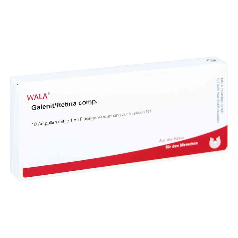 Galenit/ Retina compositus Ampullen  bei juvalis.de bestellen