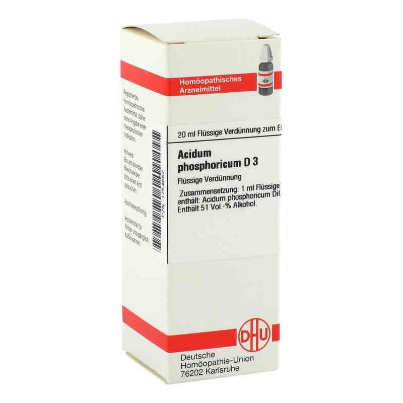 Acidum Phosphoricum D3 Dilution  bei juvalis.de bestellen