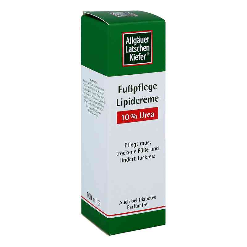 Allgäuer Latschenk. 10% Urea Fuss Lipidcreme  bei juvalis.de bestellen