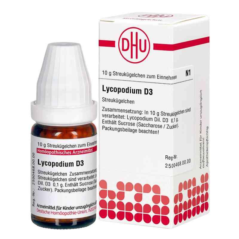 Lycopodium D 3 Globuli  bei juvalis.de bestellen