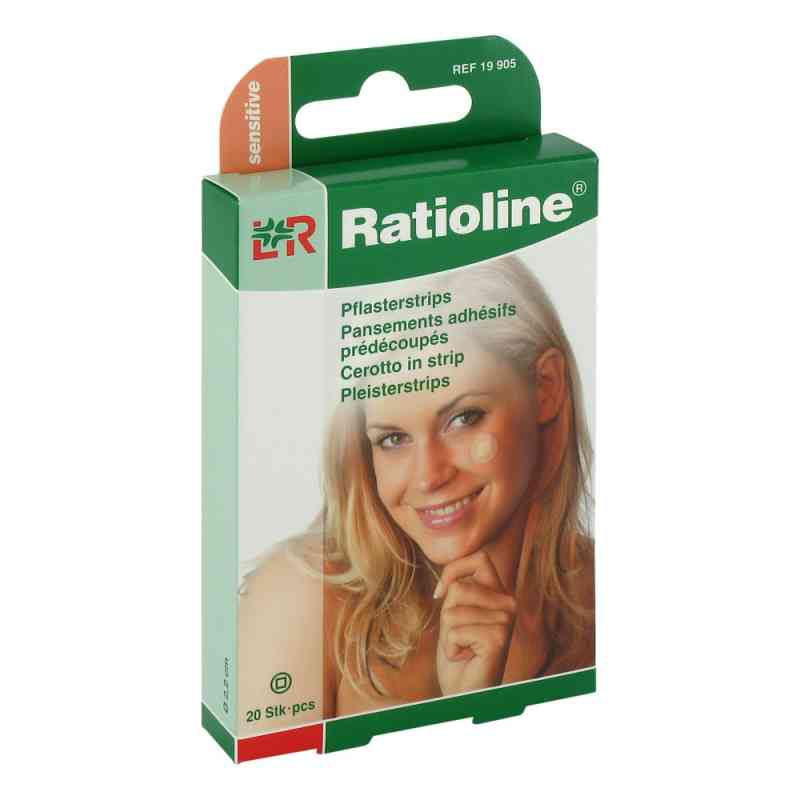 Ratioline sensitive Pflasterstrips rund  bei juvalis.de bestellen