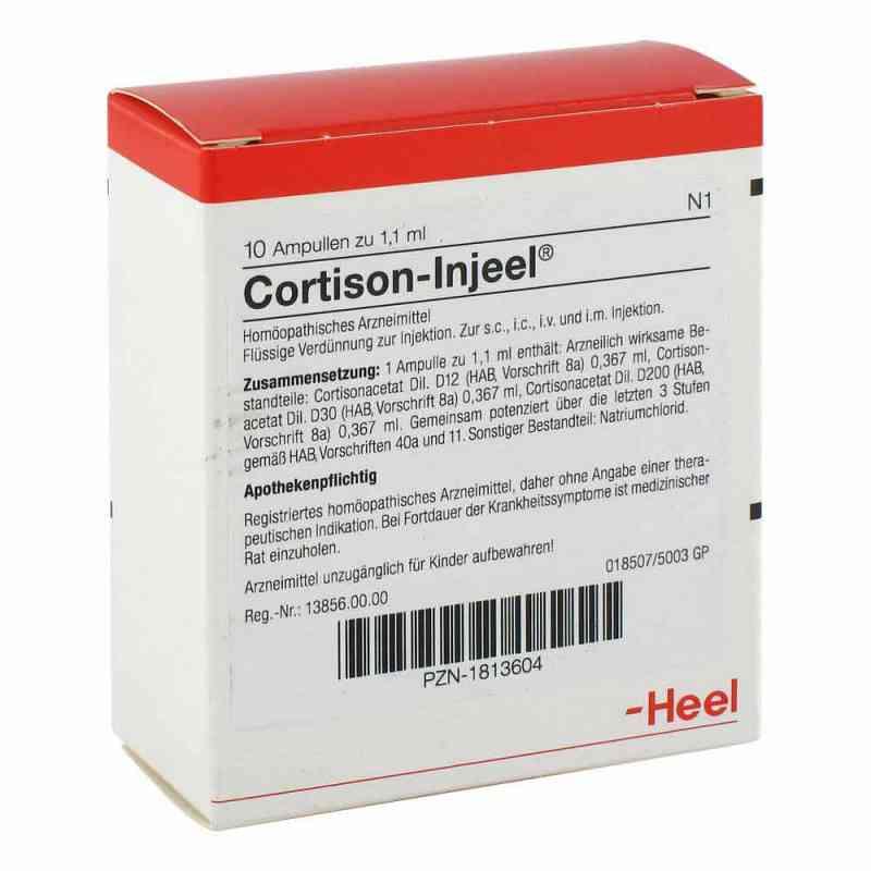 Cortison Injeel Ampullen  bei juvalis.de bestellen