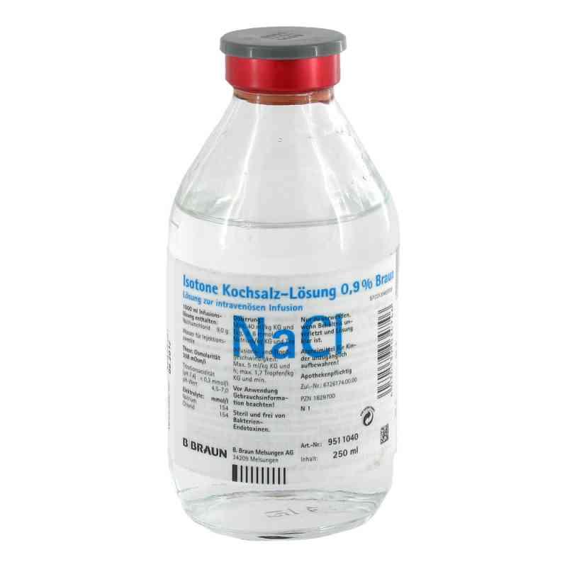 Kochsalzlösung 0,9% Glasflasche  bei juvalis.de bestellen