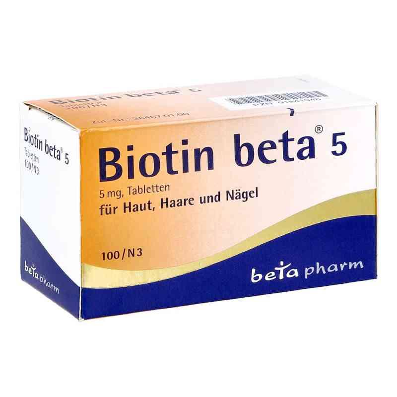 Biotin Beta 5 Tabletten  bei juvalis.de bestellen