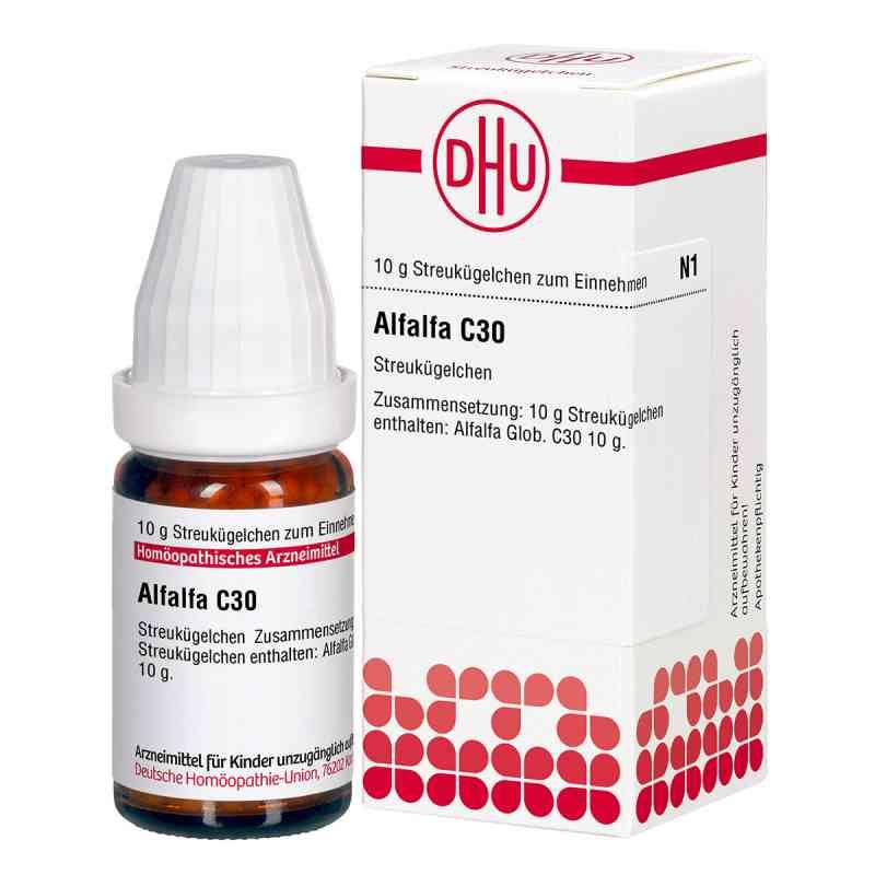 Alfalfa C30 Globuli  bei juvalis.de bestellen