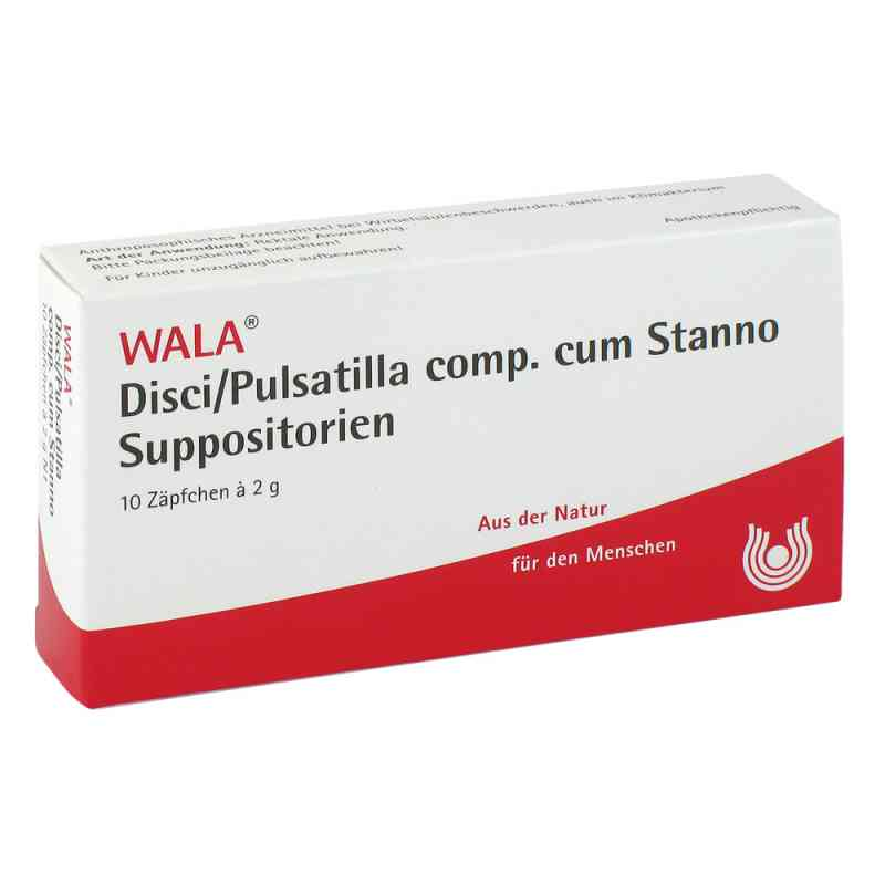 Disci/ Pulsatilla Comp. cum Stanno. Suppositorien  bei juvalis.de bestellen