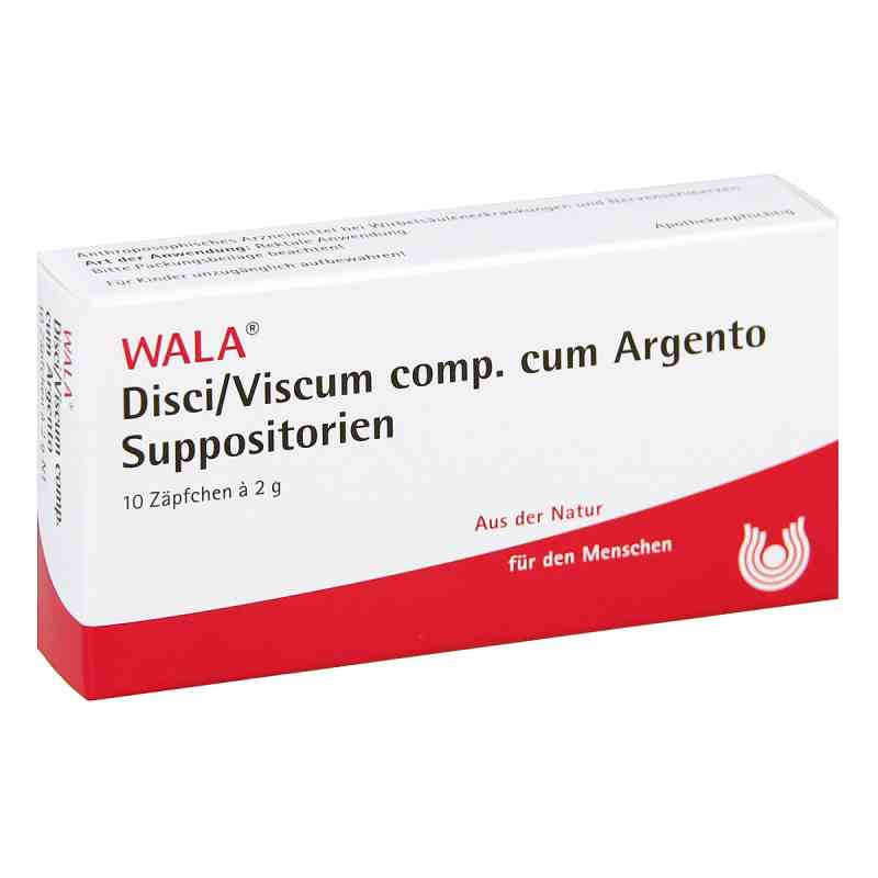 Disci/ Viscum Comp. cum Argento Suppositorien  bei juvalis.de bestellen