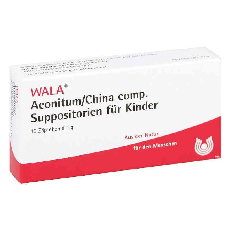Aconitum/china compositus  Suppositorium  Kdr.  bei juvalis.de bestellen