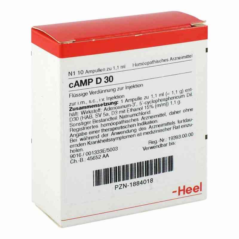 Camp D30 Ampullen  bei juvalis.de bestellen