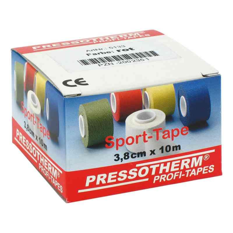 Pressotherm Sport-tape 3,8cmx10m rot  bei juvalis.de bestellen