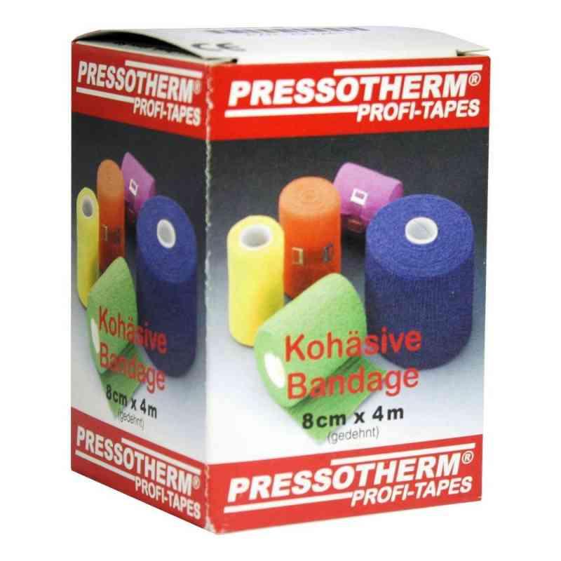 Pressotherm Kohäsive Bandage 8cmx4m grün  bei juvalis.de bestellen