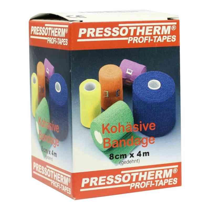 Pressotherm Kohäsive Bandage 8cmx4m gelb  bei juvalis.de bestellen