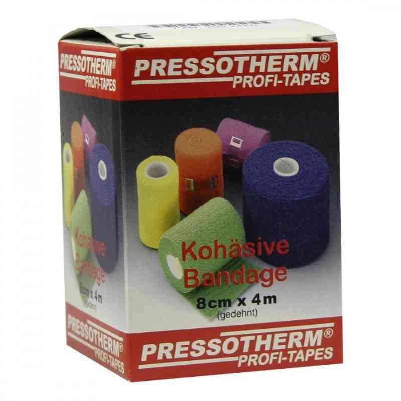 Pressotherm Kohäsive Bandage 8cmx4m blau  bei juvalis.de bestellen