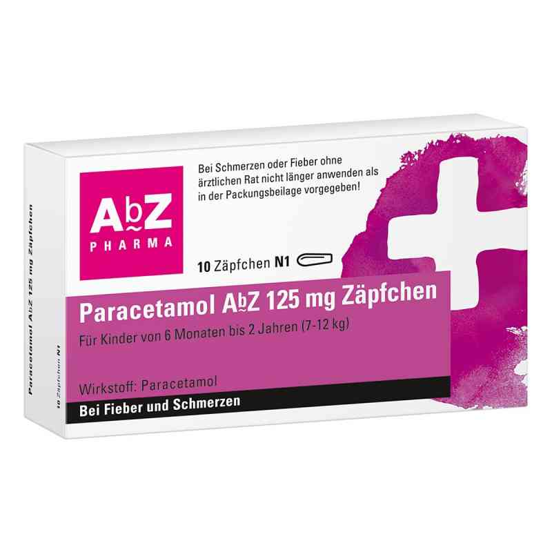 Paracetamol AbZ 125mg  bei juvalis.de bestellen