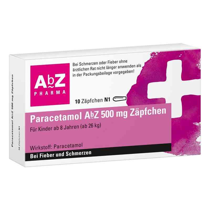 Paracetamol AbZ 500mg Zäpfchen  bei juvalis.de bestellen