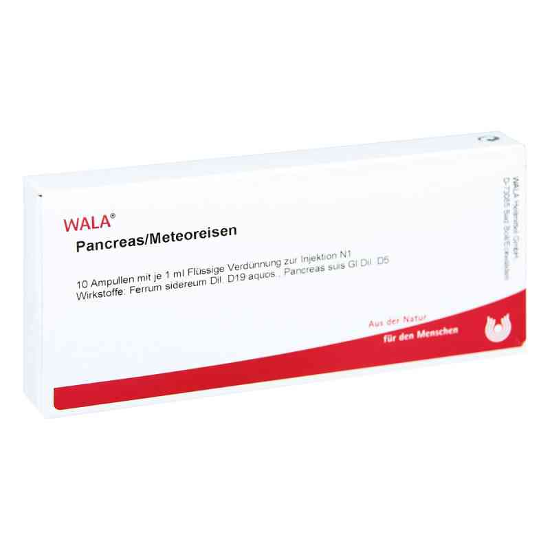 Pancreas/ Meteoreisen Ampullen  bei juvalis.de bestellen