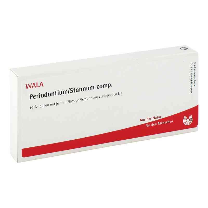 Periodontium/ Stannum Comp. Ampullen  bei juvalis.de bestellen