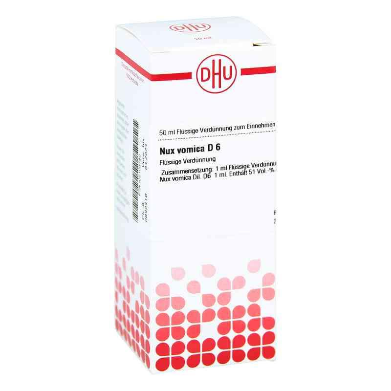 Nux Vomica D6 Dilution  bei juvalis.de bestellen