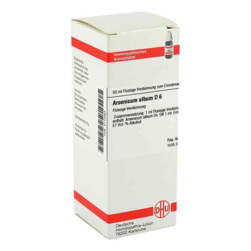 Arsenicum Album D6 Dilution  bei juvalis.de bestellen