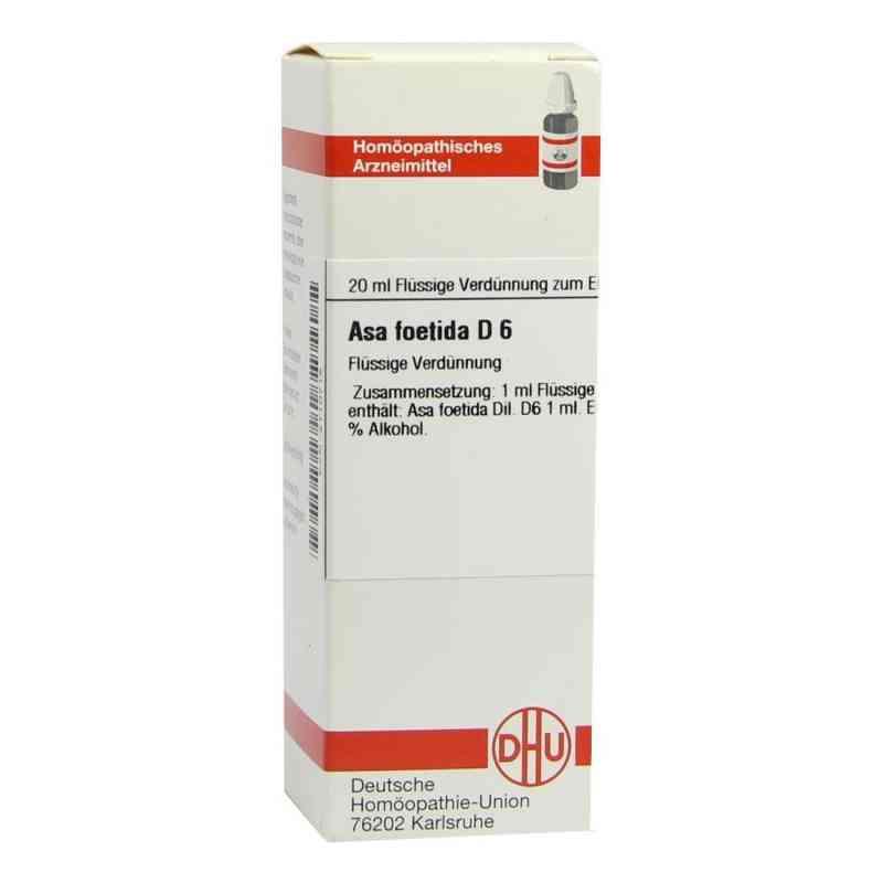 Asa Foetida D6 Dilution  bei juvalis.de bestellen