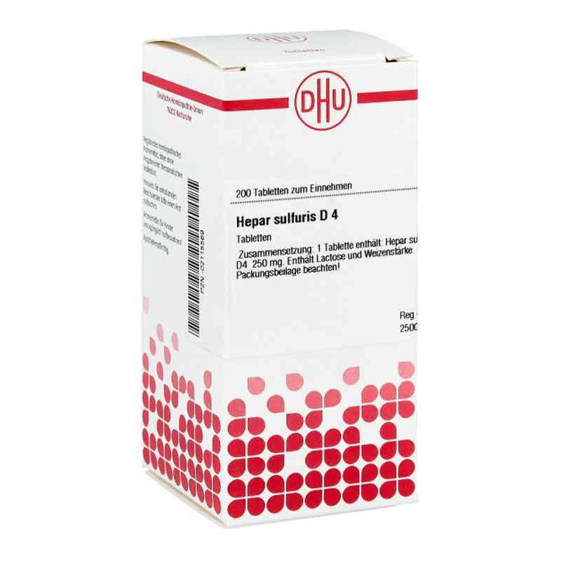 Hepar Sulfuris D4 Tabletten  bei juvalis.de bestellen
