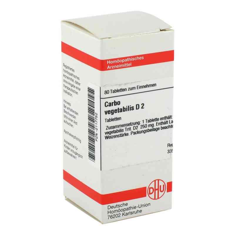 Carbo Vegetabilis D2 Tabletten  bei juvalis.de bestellen